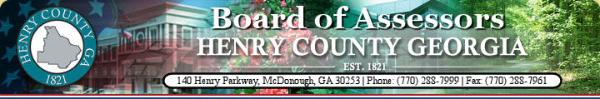 Henry County Georgia Property Tax Records